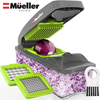 Mueller Onion Chopper Pro Vegetable Chopper – Strongest – NO MORE TEARS 30%..