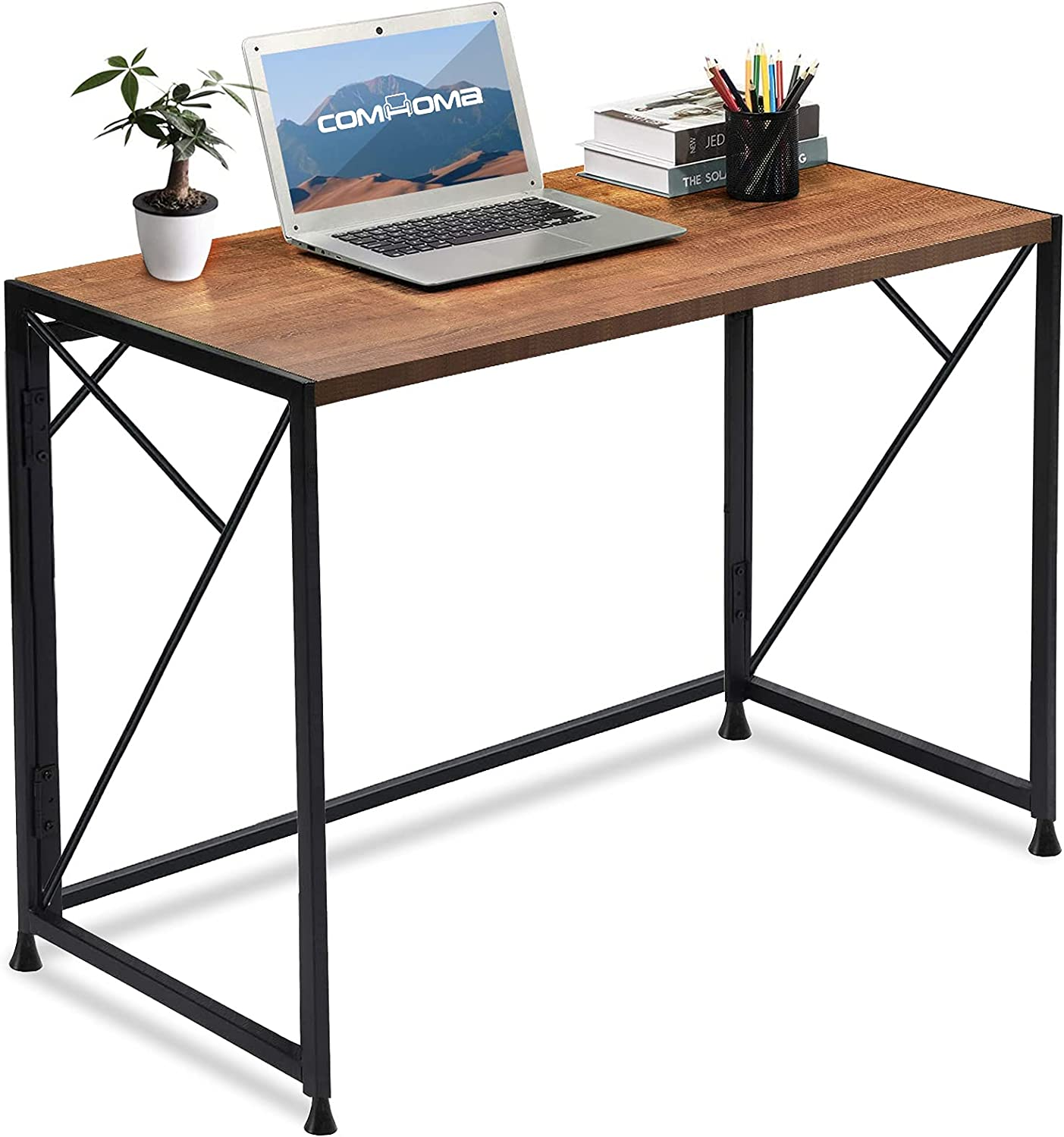 COMHOMA Folding Popular Courier shipping free shipping standard Desk Foldable Office Home 40