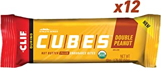 Clif Cubes - Endurance Energy Bars - Double Peanut Butter (1.76 Ounce, 12 Count)