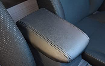 it's us Black Console Lid Armrest Cover for Toyota Camry 2012-2017