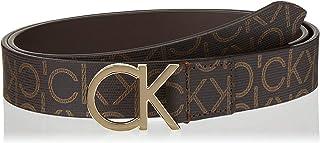 Calvin Klein Women's 3cm Monogram belt Belts