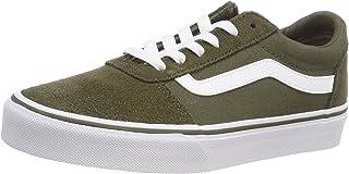 Vans Women's Ward Suede/Canvas Low-Top Sneakers