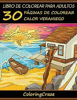 Libro de Colorear para Adultos: 30 Páginas de Colorear