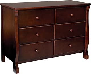 Delta Children Universal 6 Drawer Dresser, Black Cherry