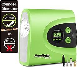 PowRyte Portable Air Compressor,Digital Tire Inflator with 12VDC 150PSI Tire Pump,40%..