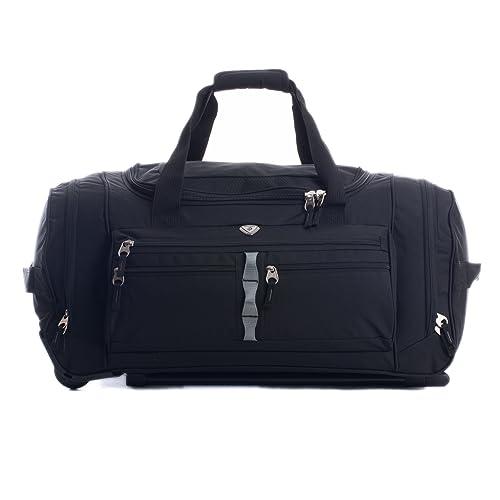 3fa1c4b15211 CALPAK Terminator Black 26 Inch Rolling Upright Duffel Bag
