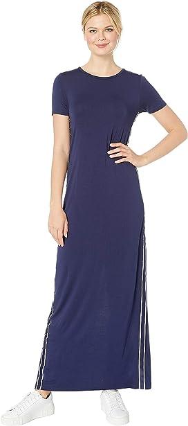 53cda56b7a2 MICHAEL Michael Kors Chain Lace-Up Maxi Dress at Zappos.com