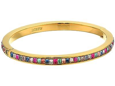 J.Crew Pavi Baguette Hinge Bracelet (Multicolor) Bracelet