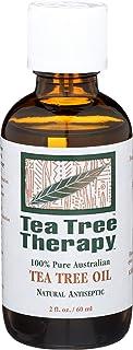 Tea Tree Therapy 100% Pure Australian Tea Tree Oil, 2-Ounce Bottle