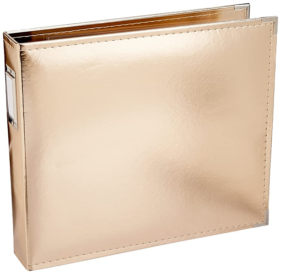 American Crafts 660110 We R Memory Keepers Classic Leather Album, 12