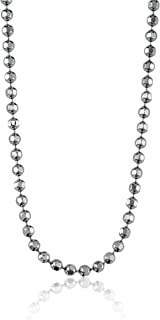 Alex Woo Chain Precious Metal Diamond-Cut Ball Chain
