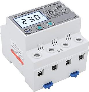 Spanningsbeveiliging, Instelbare Spanningsbeveiliging, 3-Fasen LCD Multifunctionele Zelfherstellende STVP ‑ 932 230V/400VA...