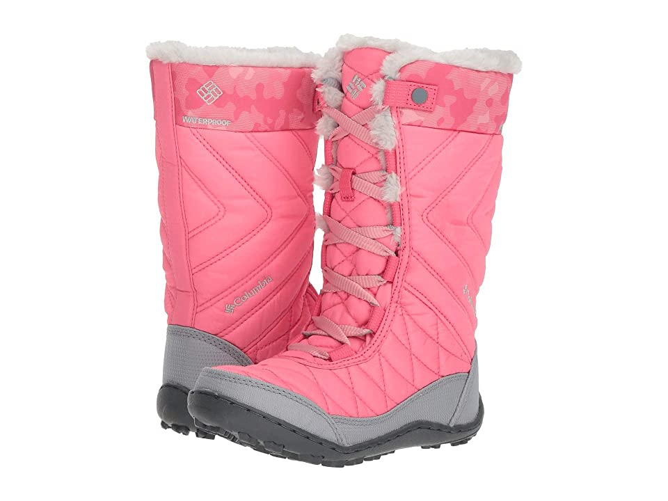 Columbia Kids Minxtm Mid III Print Omni-Heattm (Little Kid/Big Kid) (Camellia Rose/Rosewater) Girls Shoes