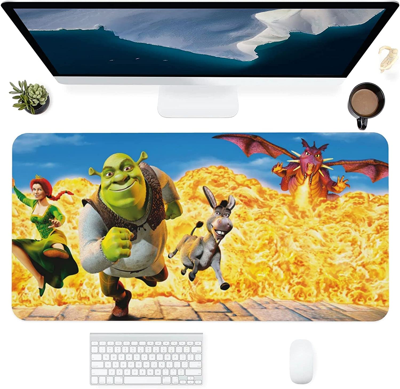 Shrek Very popular Mouse pad Gaming Office New item Computer Laptop Desktop A Supplies