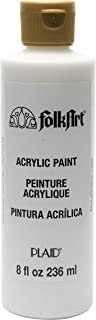 FolkArt PL987-8 Acrylic Paint in Assorted Colors, 8 oz, Wicker White