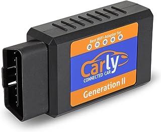 オリジナルCarly WIFI GEN 2 OBD Adapter for iPhone - BMW、メルセデス、ポルシェ、ルノー - 生涯保証