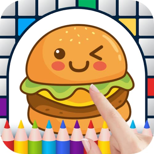 Kawaii Color by Number - Free Pixel Art Game - Coloring Book Pages - Happy, Creative & Relaxing - Paint & Crayon Palette - Zoom in & Tap to Color - Share Creations with Friends!