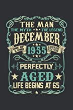 The Man The Myth The Legend December 1953 Perfectly Aged Life Begin At 67 (Dream Journal): Dream Journal Notebook For Men,...