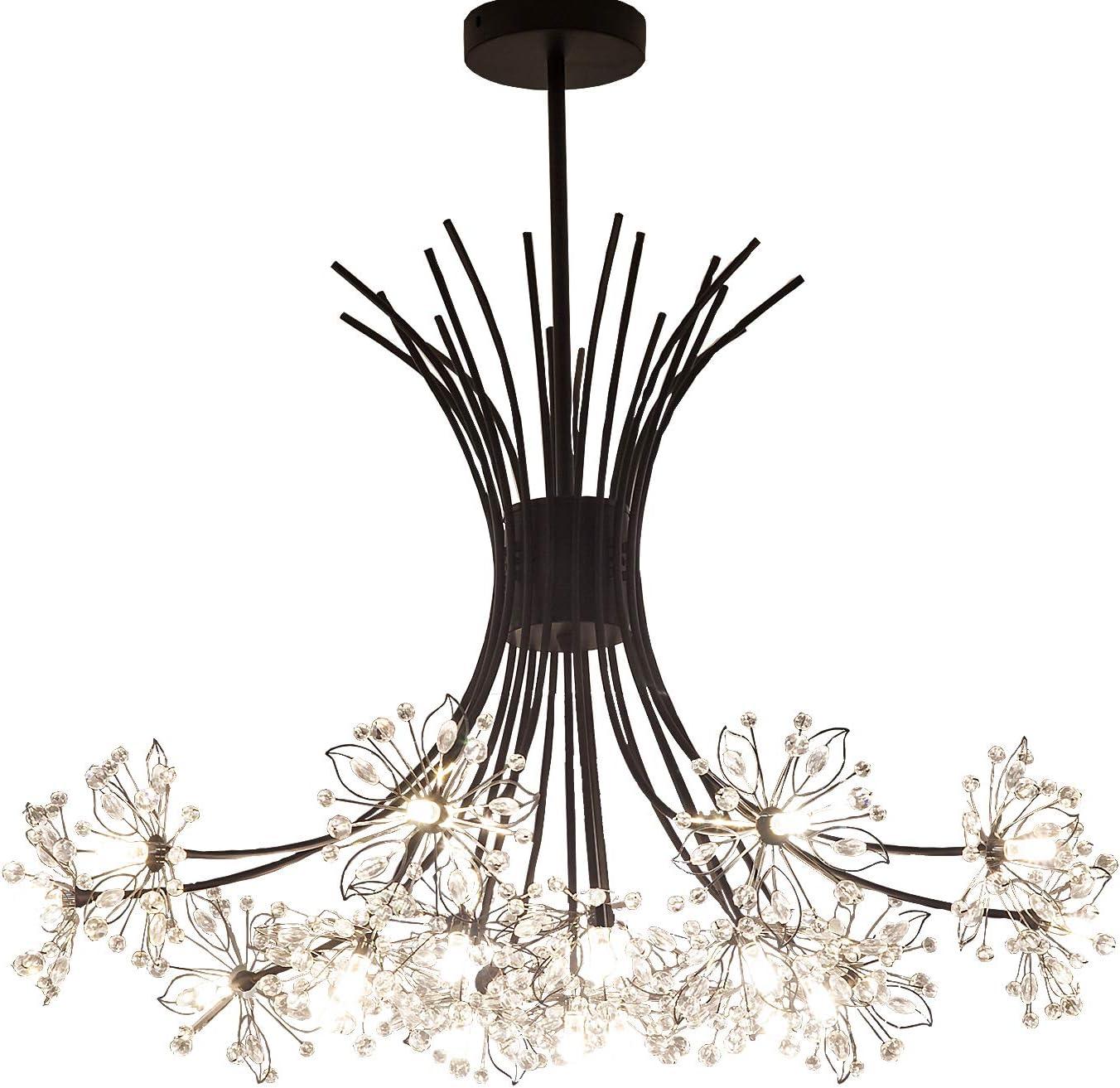 Garwarm Modern Firework Store Chandeliers Chandelier Max 46% OFF Dandelion Crystal