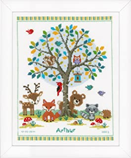 Vervaco Into the Woods Counted Cross Stitch Kit, Multi-Colour