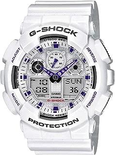 Casio G-Shock GA100A-7A X-Large Men's White Resin Sport Watch