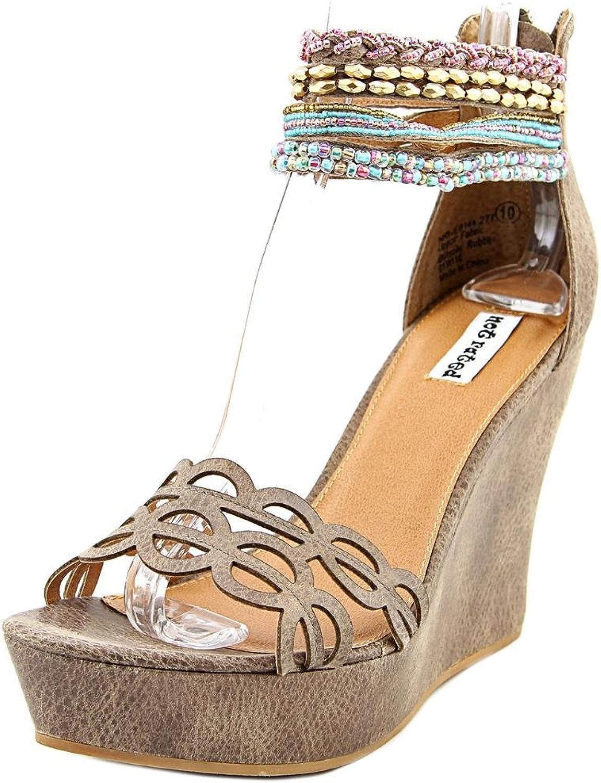Inte rankad Springaa Fling Fling Fling kvinnor US 8.5 bspringaaa Wedge Sandal  försäljningsförsäljning