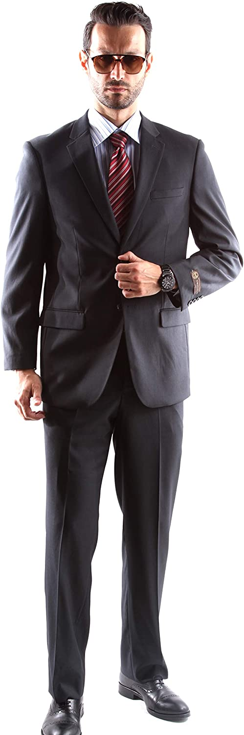 Men's Single Breasted 2 Button Superior Extra 150s Fine Dress A surprise Regular dealer price is realized Su