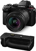Panasonic Lumix DC-S5 Mirrorless Digital Camera with Lumix S 20-60mm f/3.5-5.6 L-Mount Lens DMW-BGS5 Battery Grip