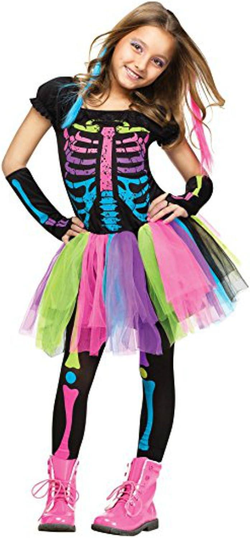 Girl's Max 59% OFF Funky Bones Costume: Halloween Skeleton Super-cheap 8 Costume