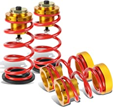 DNA MOTORING Red COIL-HC06-RD Suspension Coilover Sleeve Kit [for 06-11 Honda Civic]
