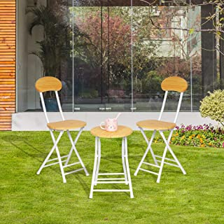 Best folding patio table and chair set Reviews