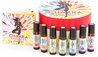Sponsored Ad - Plant Therapy Chakra Synergy Blends Complete Roll-On Set 100% Pure, Therapeutic Grade
