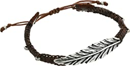 Leather Pull Cord Bracelet