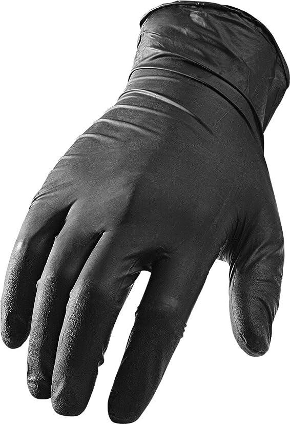 LIFT Safety Ni-Flex Gloves (Black, Large)