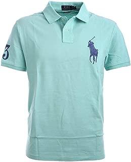 POLO RALPH LAUREN Womens Custom Slim Fit Big Pony Polo Shirt