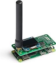 Sainsmart MMDVM Hot Spot Shield with OLED+MMDVM Hotspot Spot Radio Station Antenna, Support P25 DMR YSF D-Star WiFi Digital Voice Modem Suitable for Raspberry Pi-Zero W, Pi 3, Pi 3B+