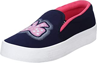 2ROW Women's Bow Print Blue Loafers