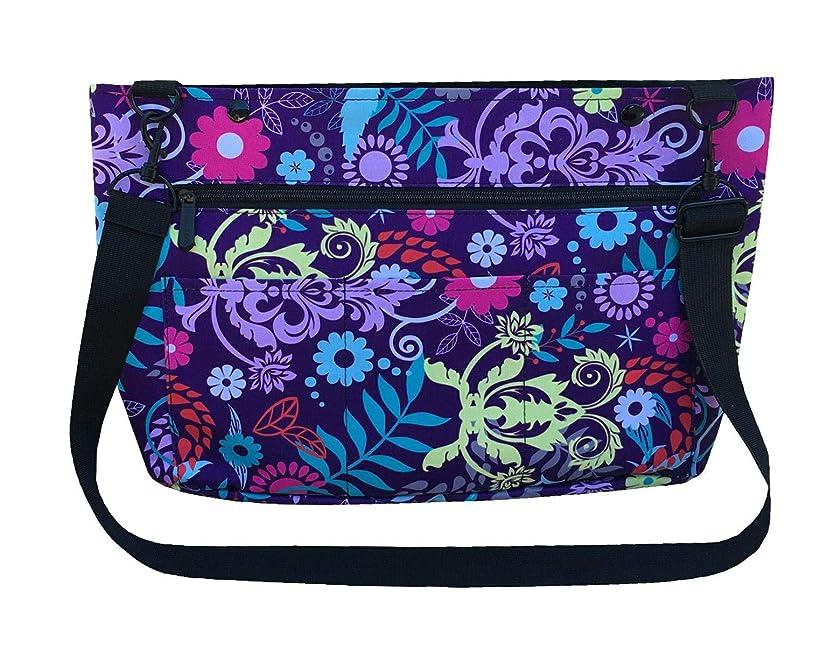 Snapster Snap On Tote Bag for Walker, Stroller or Shopping Cart (Jubilee Flourish)