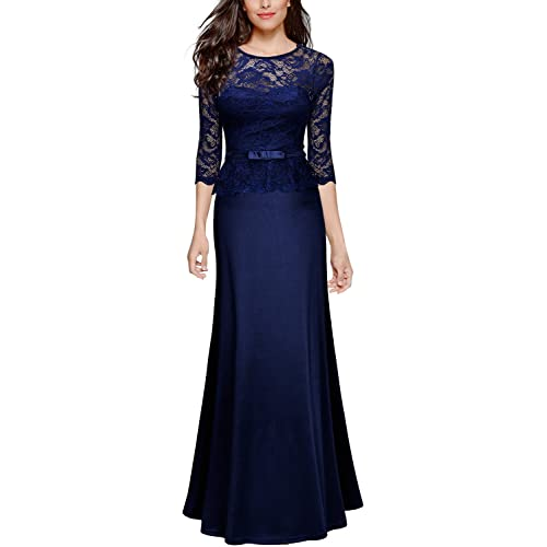 Long Navy Bridesmaid Dresses: Amazon.com
