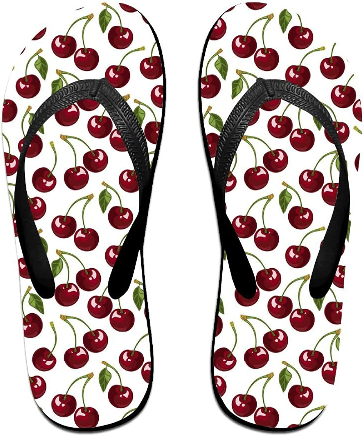 Summer Beach Sandals Cherry Comfortable Flip-Flop Multiple Sizes Unisex