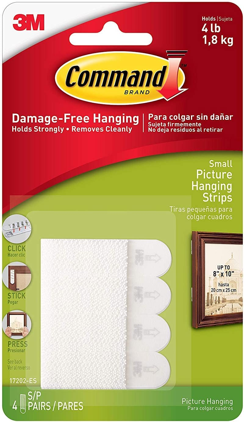 Command Picture Hanging Inexpensive Strips Small Each p 3 Large-scale sale 8-Strips White