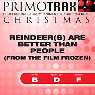 Reindeer Are Better Than People - Christmas Primotrax - Performance Tracks - EP
