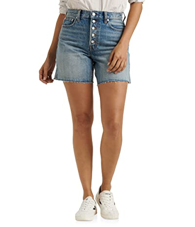 Lucky Brand High-Rise Traveler Shorts in Unlimited (Unlimited) Women