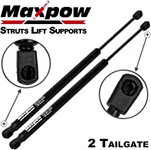 Maxpow Qty 2 Tailgate Gas Spring Prop Lift Support Strut Compatible With Subaru Impreza 1998 1999 2000 2001 SG223004
