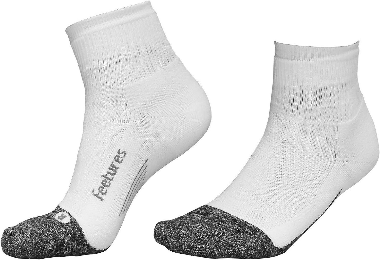 Feetures Elite Chaussettes de course /à pied avec coussin l/éger Taille XL