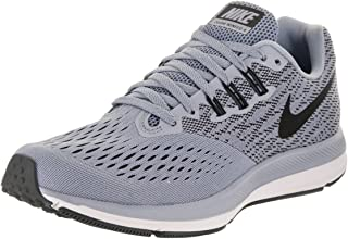 Nike Wohombres Air Zoom Winflo 4 Running zapatos Glacier gris  negro- Anthracite-blanco 6.5