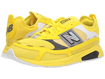 New Balance Classics X-Racer (Yellow/Black Synthetic/Mesh) Men