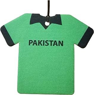 Personalized Pakistan Cricket Shirt Car Air Freshener (Xmas Christmas Stocking Filler/Secret Santa Gift)