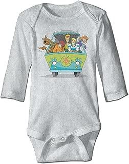 Baby 100% Cotton Long Sleeve Onesies Toddler Bodysuit Scooby Doo Rompers Playsuit Onesies