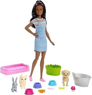 Barbie Plan 'N' Wash Pets Doll & Playset